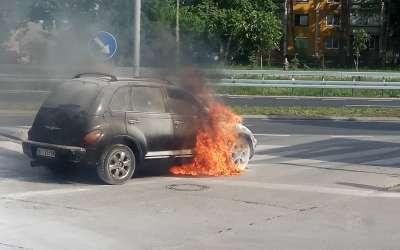 Požar automobil