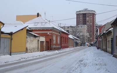 Pancevo zima Dositejeva