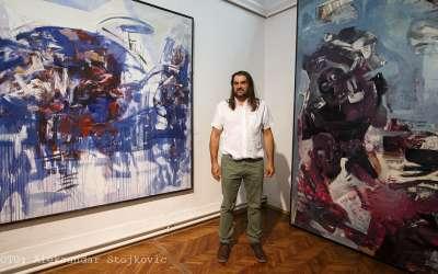 Miroslav Lazovic u Narodnom muzeju Pančevo