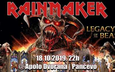 Rainmaker Iron Maiden Tribute u Apolu