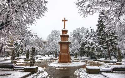 Krst u parku Pančevo