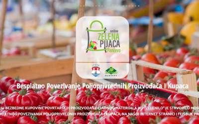 Online zelena pijaca Pančevo
