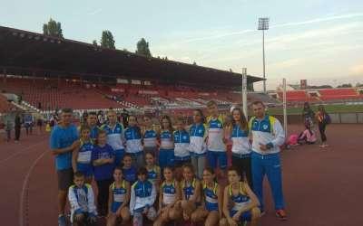 Atletičari Dinama na mitingu Open Novi Sad