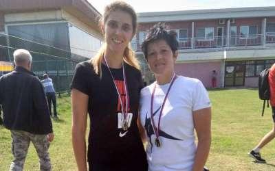 Jela Stanković i Jelena Knjeginjić orijentiring