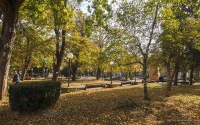 Jesen u Pančevu, gradski park