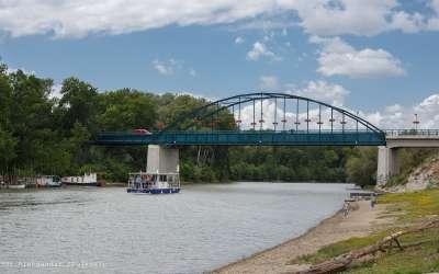 Pančevo, most preko Tamiša