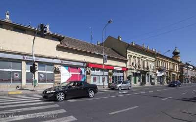 Pančevo, ulica Vojvode Radomira Putnika