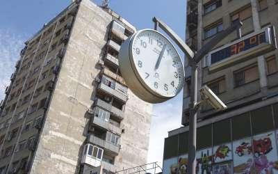 Pančevo sat na trgu Zorana Đinđića