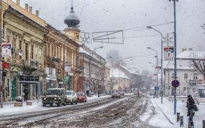Sneg u Pančevu