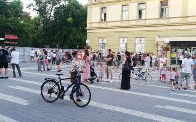 Protest u parku u četvrtak