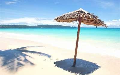 Plaža suncobran