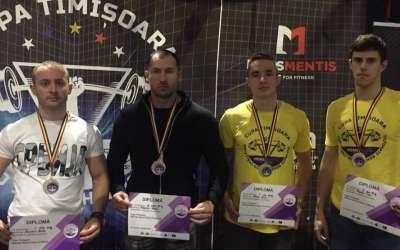 Takmičenje u bench pressu Rumunija