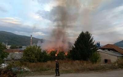 Požar u Pirotu