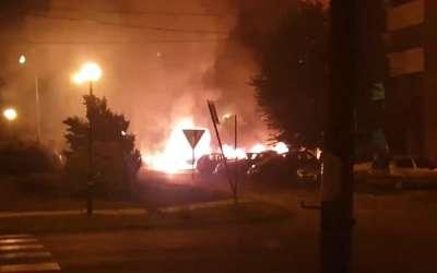 Požar u Kovinu