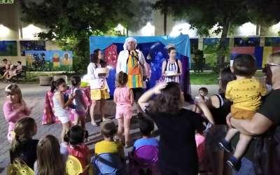 Predstava na žurkici u Dolovu