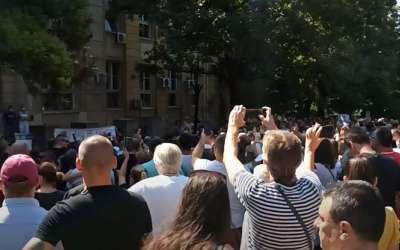 Protest vakcina