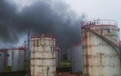 Požar u rafineriji