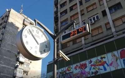 Sat u Pančevu
