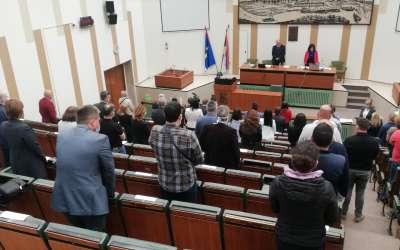 Minut ćutanja na sednici Skupštine Pančeva