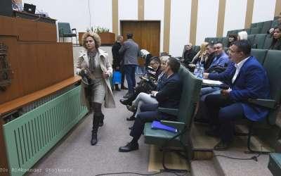 Skupština Pančeva, odbornici napuštaju sednicu