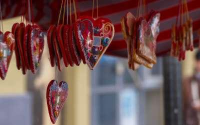 Liciderska srca na Novogodišnjem bazaru u Pančevu