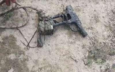 Pištolj pronađen u Tamišu