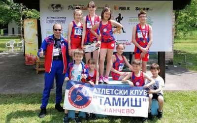 Atletičari Tamiša u Petnici
