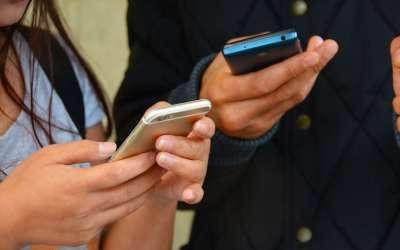 Mobilni, kucanje poruka