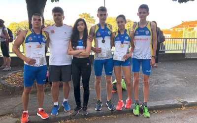 Atletičari Dinama na trofeju Beograda