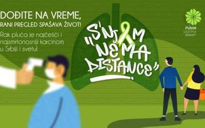 Udruženje Punim plućima plakat