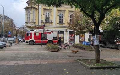 Požar u lokalu