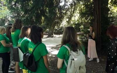 Gimzeleni u Botaničkoj bašti