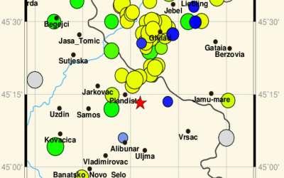 Zemljotresi u juznom Banatu