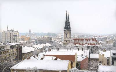 Pančevo, zima sneg 2019.