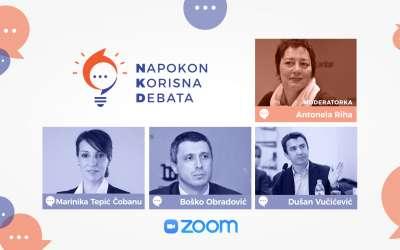 Zoom debata NKD