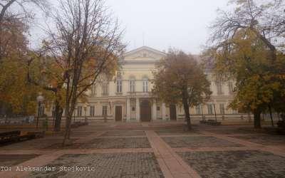 Pančevo, petak 4. novembar 2016. magla