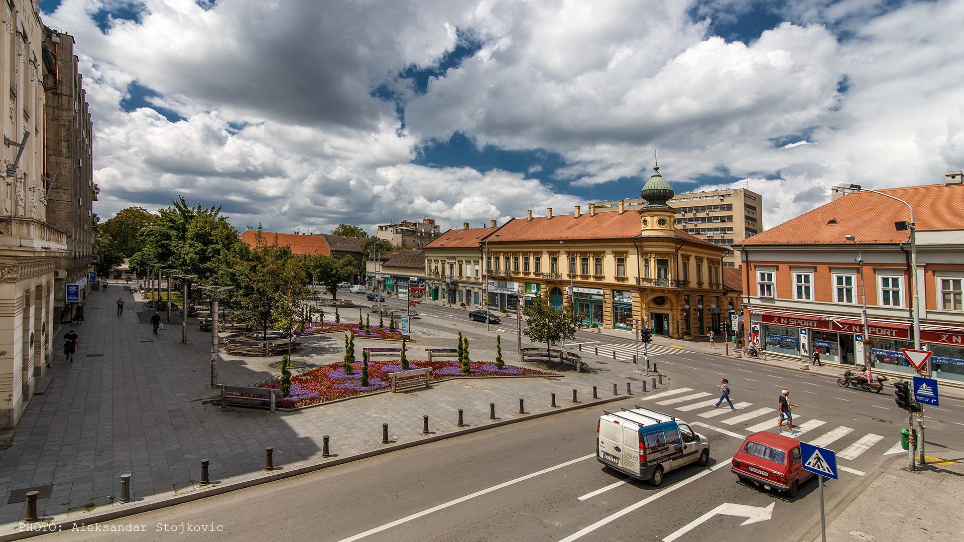 Trg Slobode Pančevo